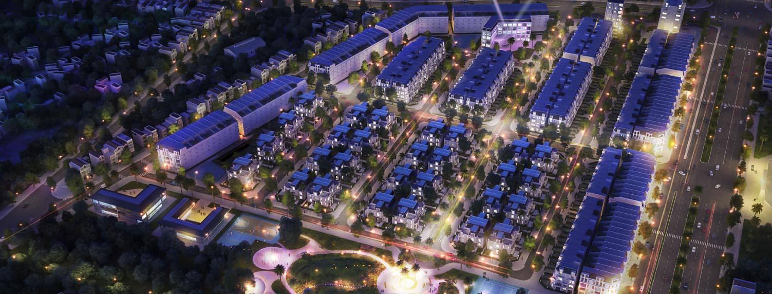 Khu Đô thị kết hợp công viên cây xanh - TP Móng cái
