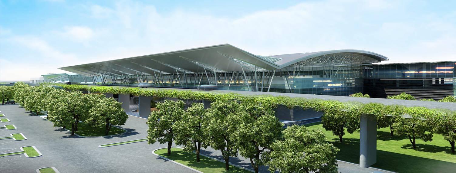 Phối cảnh Cảng Hàng không Quốc tế Đà Nẵng
